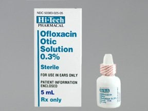 Ofloxacin Otic Dosage For Adults