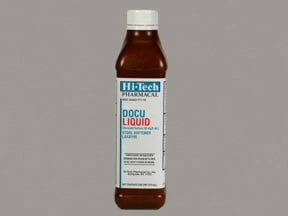 Docu 50 mg/5 mL oral liquid