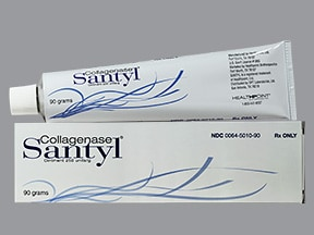 Santyl 250 unit/gram topical ointment
