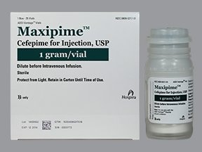 Maxipime 1 gram intravenous solution