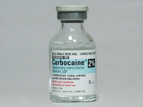 Carbocaine (PF) 20 mg/mL (2 %) injection solution
