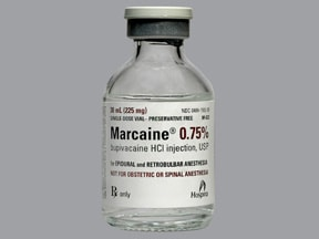 Marcaine (PF) 0.75 % (7.5 mg/mL) injection solution