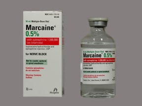Marcaine-Epinephrine 0.5 %-1:200,000 injection solution