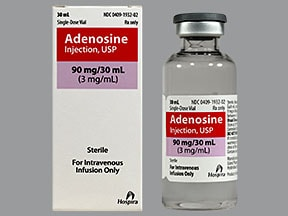 adenosine (diagnostic) 3 mg/mL intravenous solution