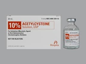 Acetylcysteine : Uses, Side Effects, Interactions, Pictures