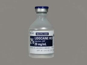 lidocaine 20 mg/mL (2 %) injection solution