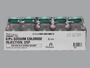sodium chloride 0.9 % injection solution