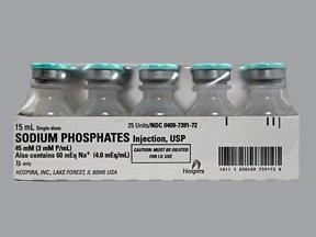 sodium phosphate 3 mmol/mL intravenous solution