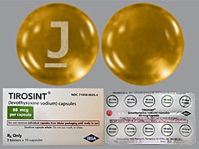 Tirosint 88 mcg capsule