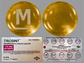 Tirosint 112 mcg capsule