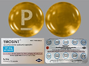 Tirosint 137 mcg capsule