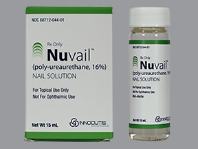 Nuvail 16 % nail film solution