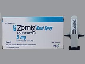 Zomig 5 mg nasal spray