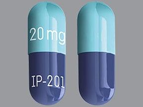 Tivorbex 20 mg capsule