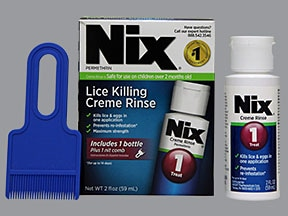 Nix Creme Rinse 1 % topical liquid