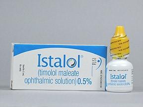 Istalol 0.5 % eye drops