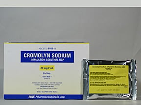 cromolyn 20 mg/2 mL solution for nebulization