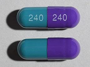 diltiazem ER 240 mg capsule,24 hr,extended release