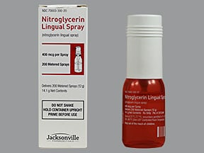 nitroglycerin 400 mcg/spray translingual