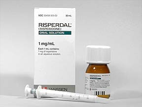 Risperdal 1 mg/mL oral solution