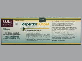Risperdal Consta 12.5 mg/2 mL intramuscular susp,extended release