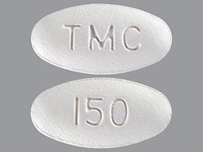Prezista 150 mg tablet