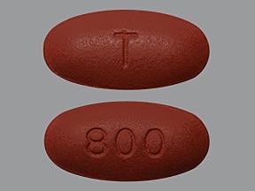 Prezista 800 mg tablet