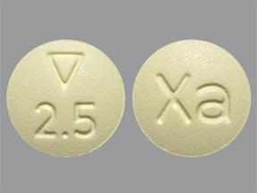 Xarelto 2.5 mg tablet