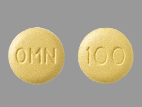 Topamax 100 mg tablet
