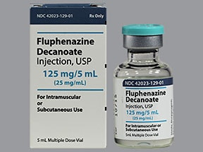 fluphenazine decanoate injection brand name