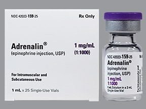Adrenalin 1 mg/mL (1 mL) injection solution