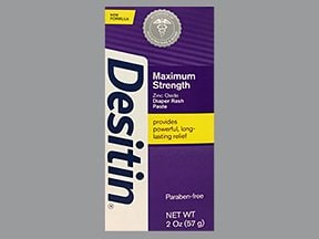Desitin 40 % topical paste