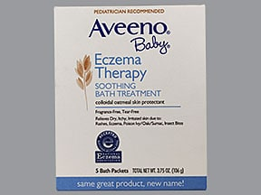 Aveeno Baby Eczema Therapy 43 % bath packet