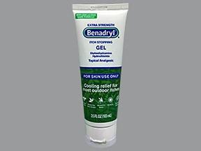 Benadryl 2 % topical gel