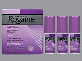 Rogaine 2 % topical solution