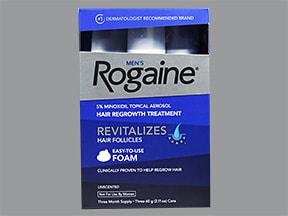 Rogaine 5 % topical foam