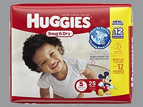 Huggies Snug and Dry Step 5