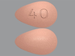 Nourianz 40 mg tablet