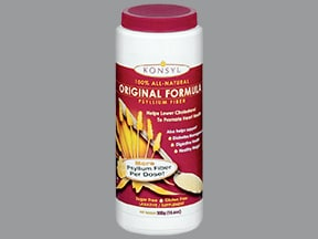 Konsyl Sugar-Free 6 gram/6 gram oral powder