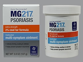 MG217 Psoriasis (coal tar) 2 % topical ointment