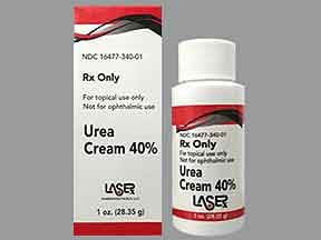 urea 40 % topical cream