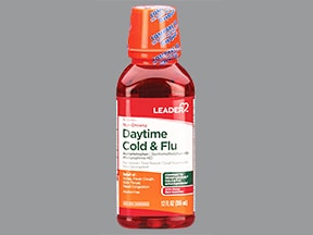 Daytime Cold and Flu Relief (PE) 5 mg-10 mg-325 mg/15 mL oral liquid