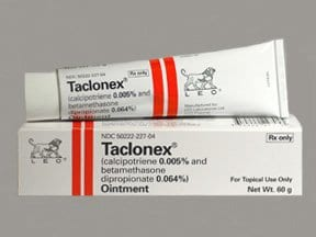 Taclonex 0.005 %-0.064 % topical ointment