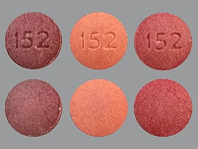 Multivitamins With Fluoride 0.5 mg chewable tablet