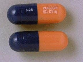 Vancocin 125 mg capsule