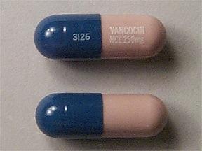 Vancocin 250 mg capsule