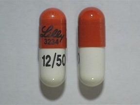Symbyax 12 mg-50 mg capsule
