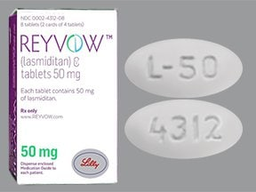 Reyvow 50 mg tablet