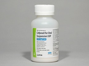 cefprozil 250 mg/5 mL oral suspension