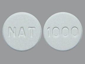 lanthanum 1,000 mg chewable tablet